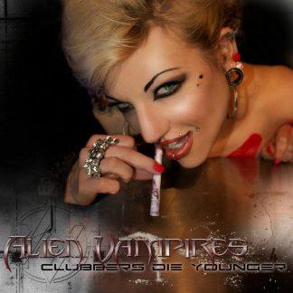 Clubbers die younger Alien Vampires EP CD
