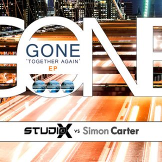 Studio-X vs. Simon Carter - Gone together again EP