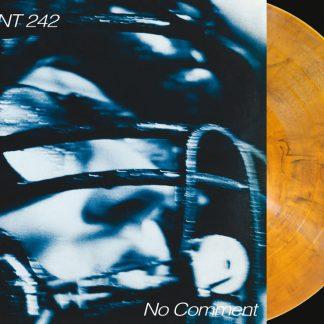 Front 242 - No Comment / Politics Of Pressure 2LP (Clear orange & black mixed / silver + CD)