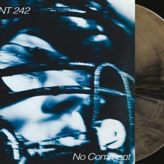 Front 242 - No Comment / Politics Of Pressure 2LP (Gold & black mixed / silver + CD)