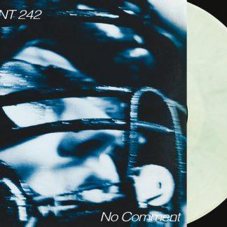 Front 242 - No Comment / Politics Of Pressure 2LP (Transparent green, clear & black mixed / silver + CD)