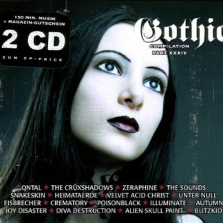 Various Artists - Gothic Compilation part 34 2CD
