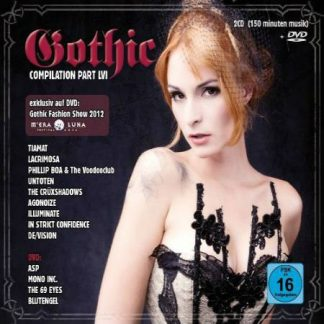 Various Artists - Gothic Compilation part 56 2CD+DVD