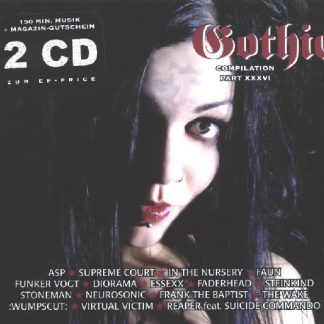 Various Artists - Gothic Compilation part 36 2CD