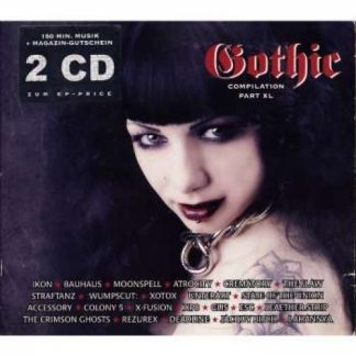 Various Artists - Gothic Compilation part 40 2CD