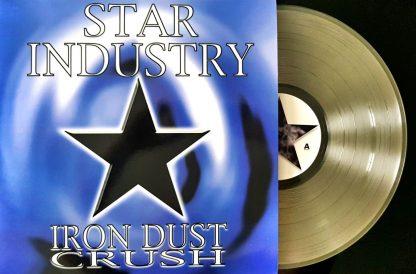 Star-Industry-Iron-Dust-Crush-clear-vinyl-edition-LP mockup